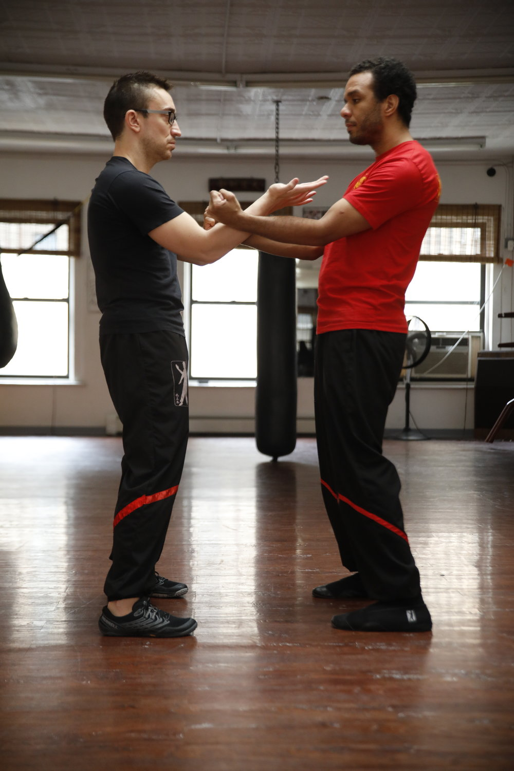 The Parallel 1 sequence introduces the use of the inside Kwun Sau as well as a number of other technical maneuvers.