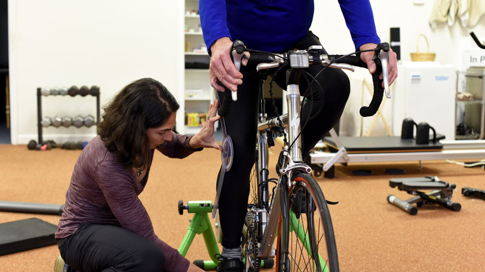 A proper bike fitting is essential to prevent injury at Orthocore Physical Therapy in North Kingstown, RI.