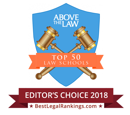 Above The Law- Top 50 Law Schools