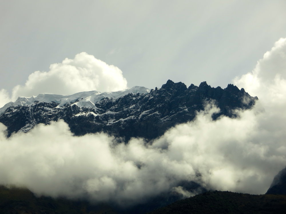 Clouds over cusco