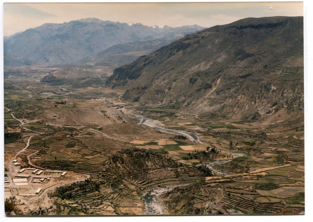 Colca Valley, Peru SA Fall, 1984