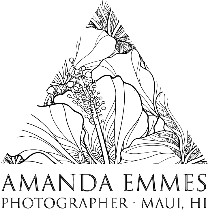 Amanda Emmes Photography | Maui, Hawaii |  Maternity & Family Photographer