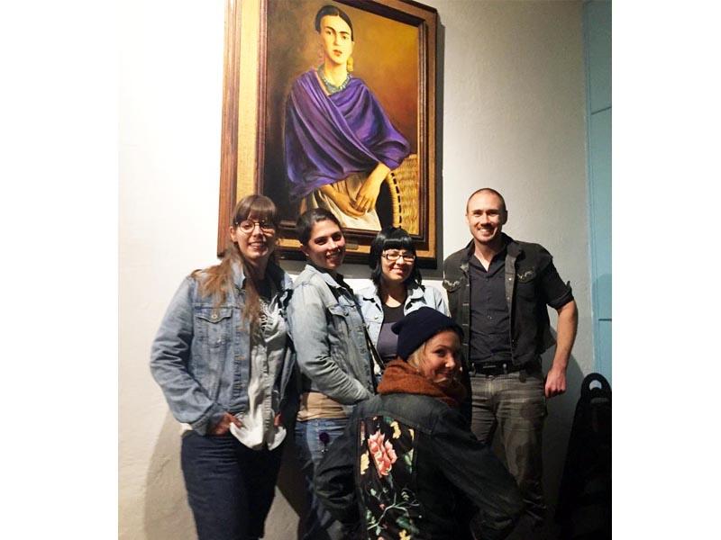 Frida, impromptu patron saint of genome editing, watches over us