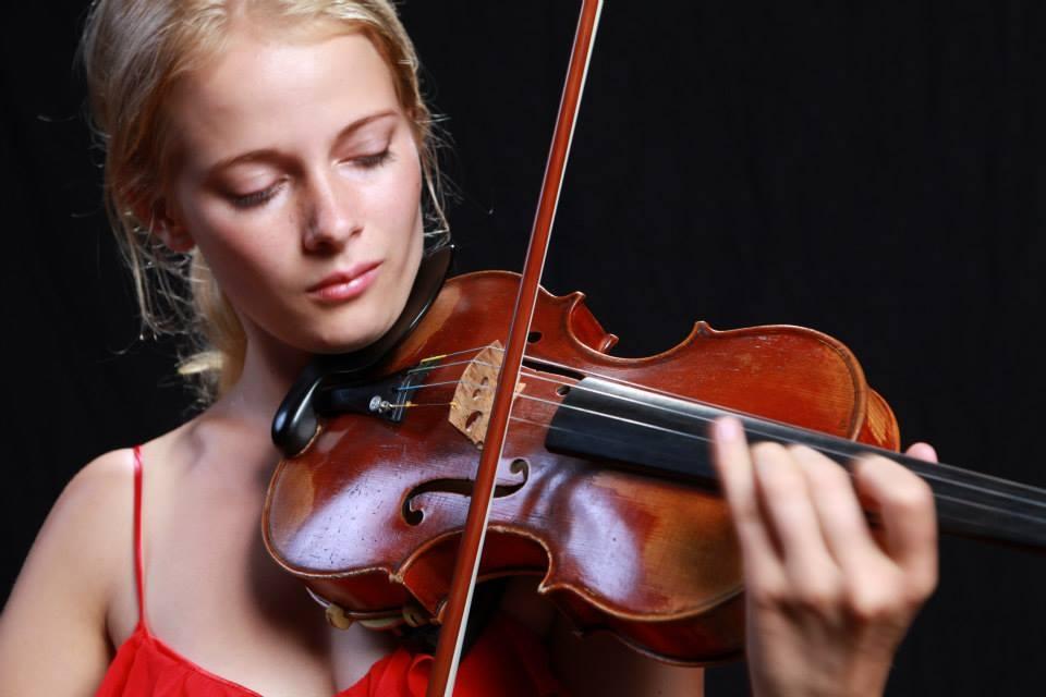 Madeline Hocking, violin Image: Paul Galinski