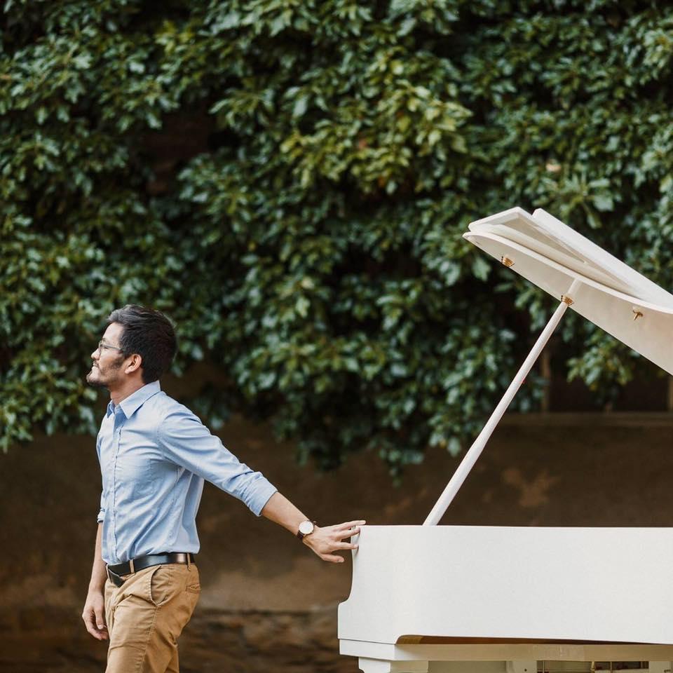 Kendzsi Tanaka, piano