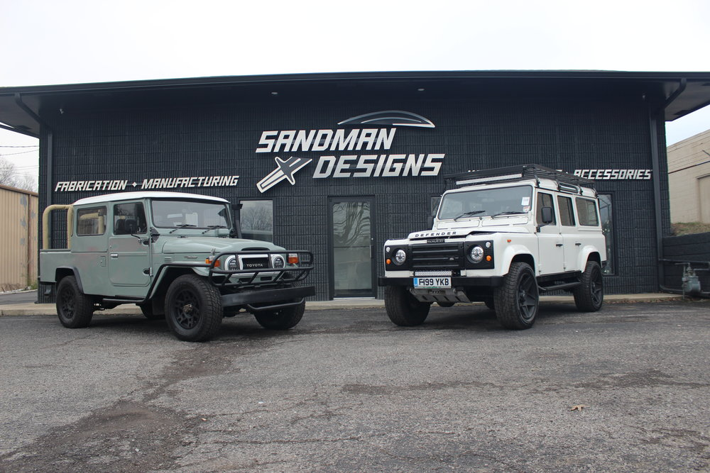 FJ Cruiser & Land Rover Defender