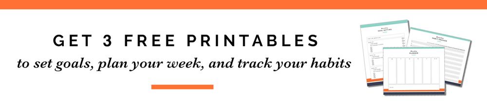 Productivity Printables