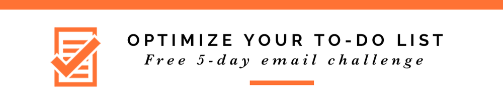 Optimize Your To-do List