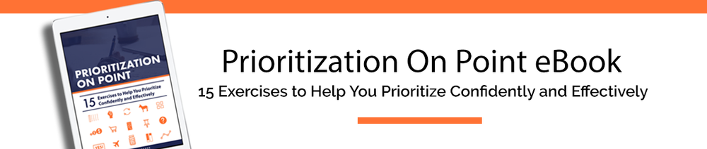 Prioritization On Point eBook | Productive and Free