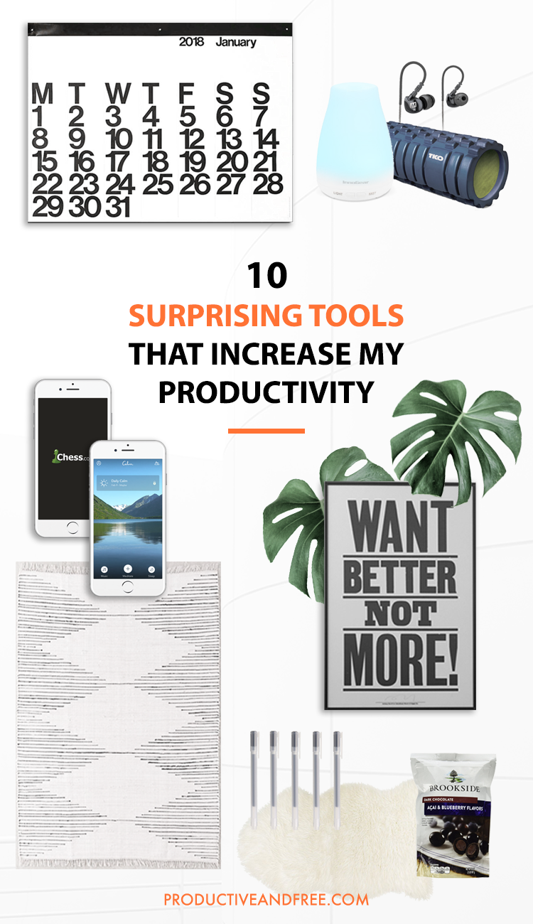 10 Surprising Tools That Increase My Productivity | Productive and Free