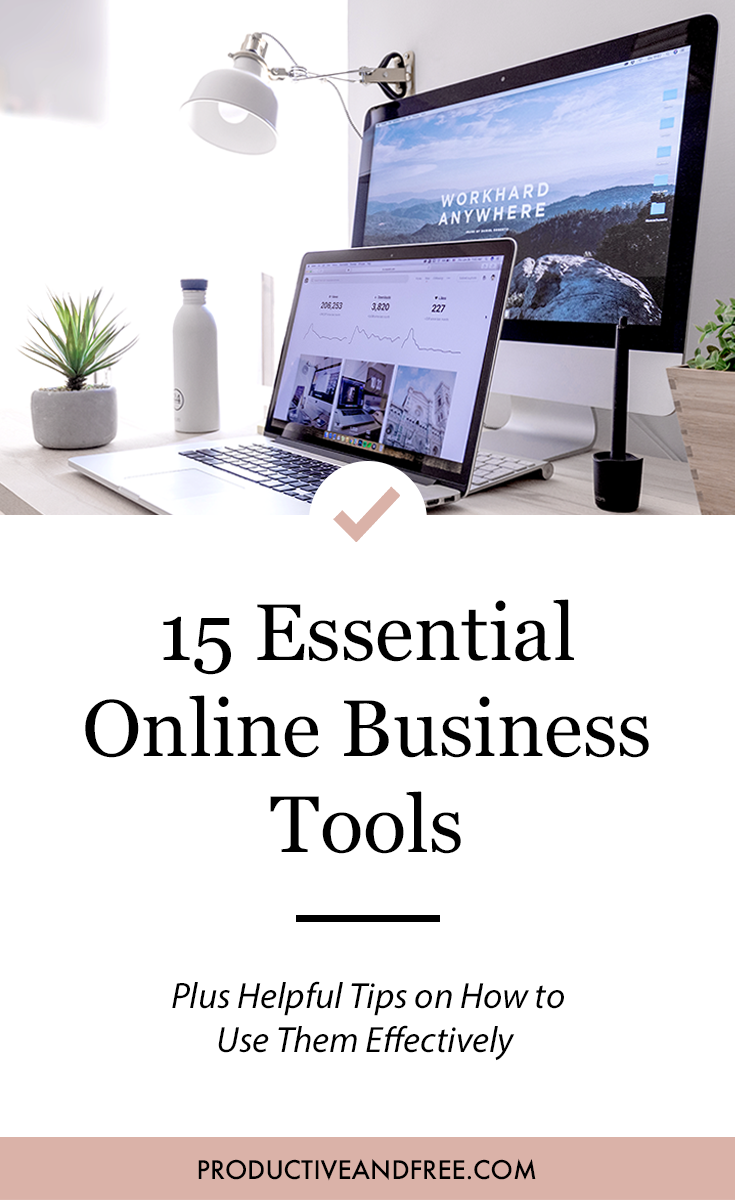 15 Essential Online Business Tools Plus Tips on How to Use Them Effectively