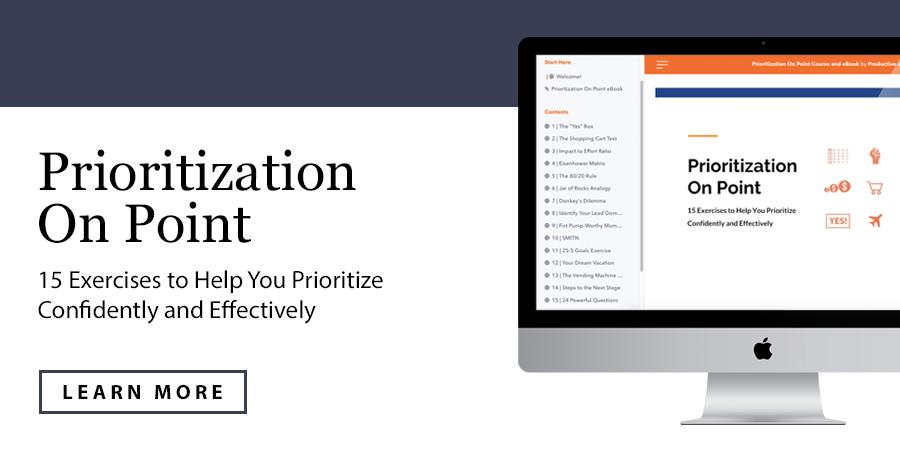 Prioritization On Point | ProductiveandFree