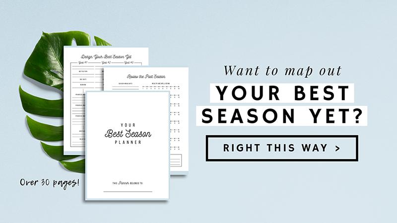 Your Best Season Planner | ProductiveandFree.com