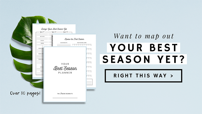 Your Best Season Planner | ProductiveandFree.com