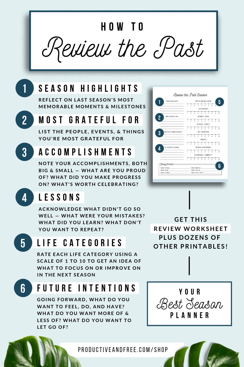 Your Best Season Planner | Productive and Free