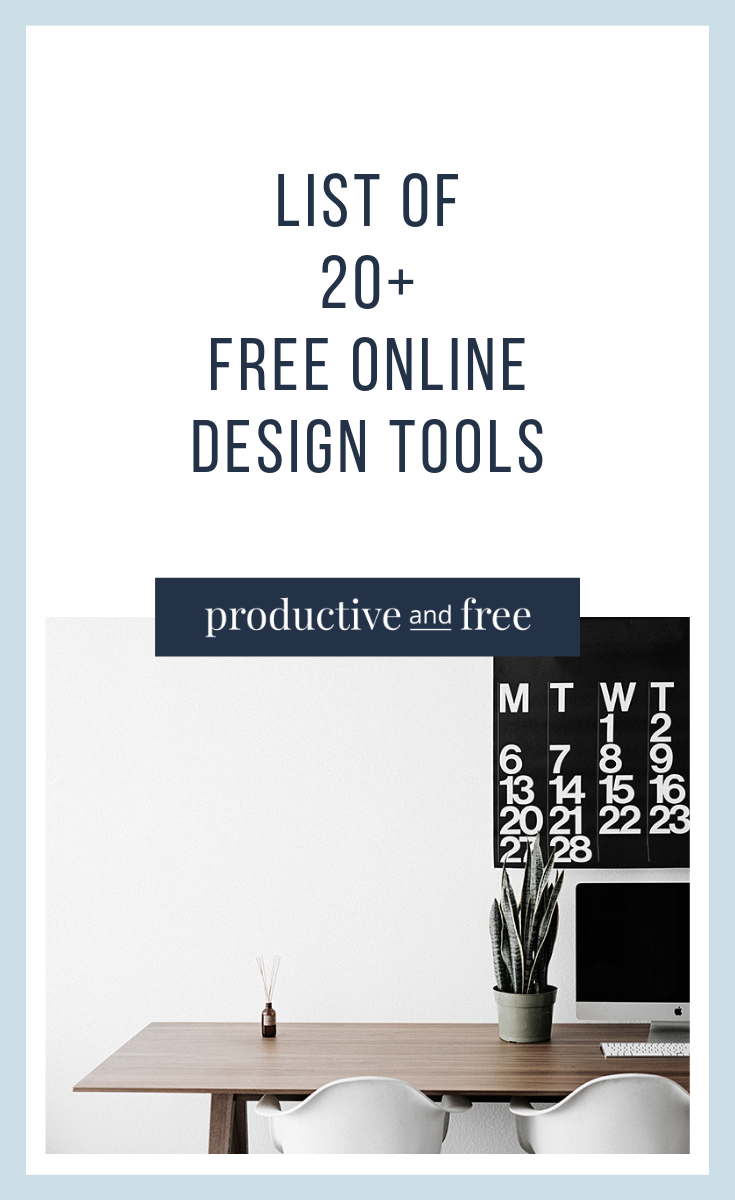 20+ free design tools online — productive and free