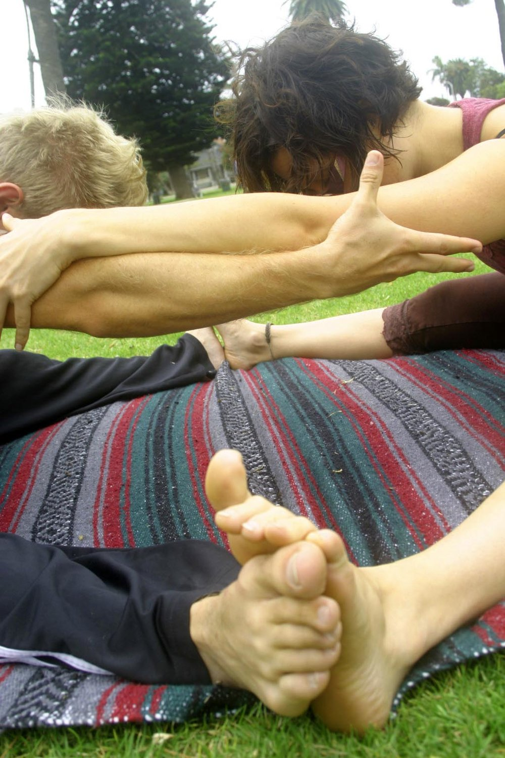 Yoga Therapy and Partner Yoga with Lynne Okun