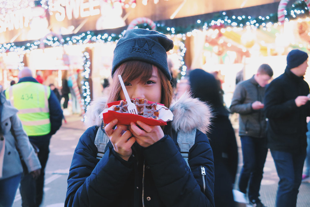 Winter Wonderland - happy me with waffles.jpg