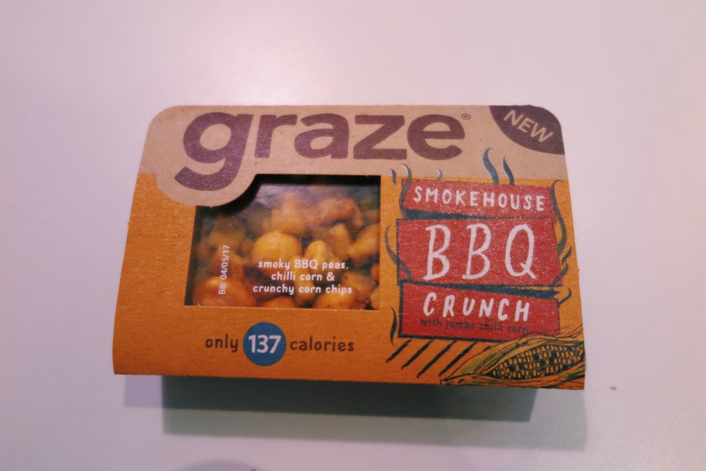 4.  graze smokehouse BBQ crunch (this is  so  bomb)
