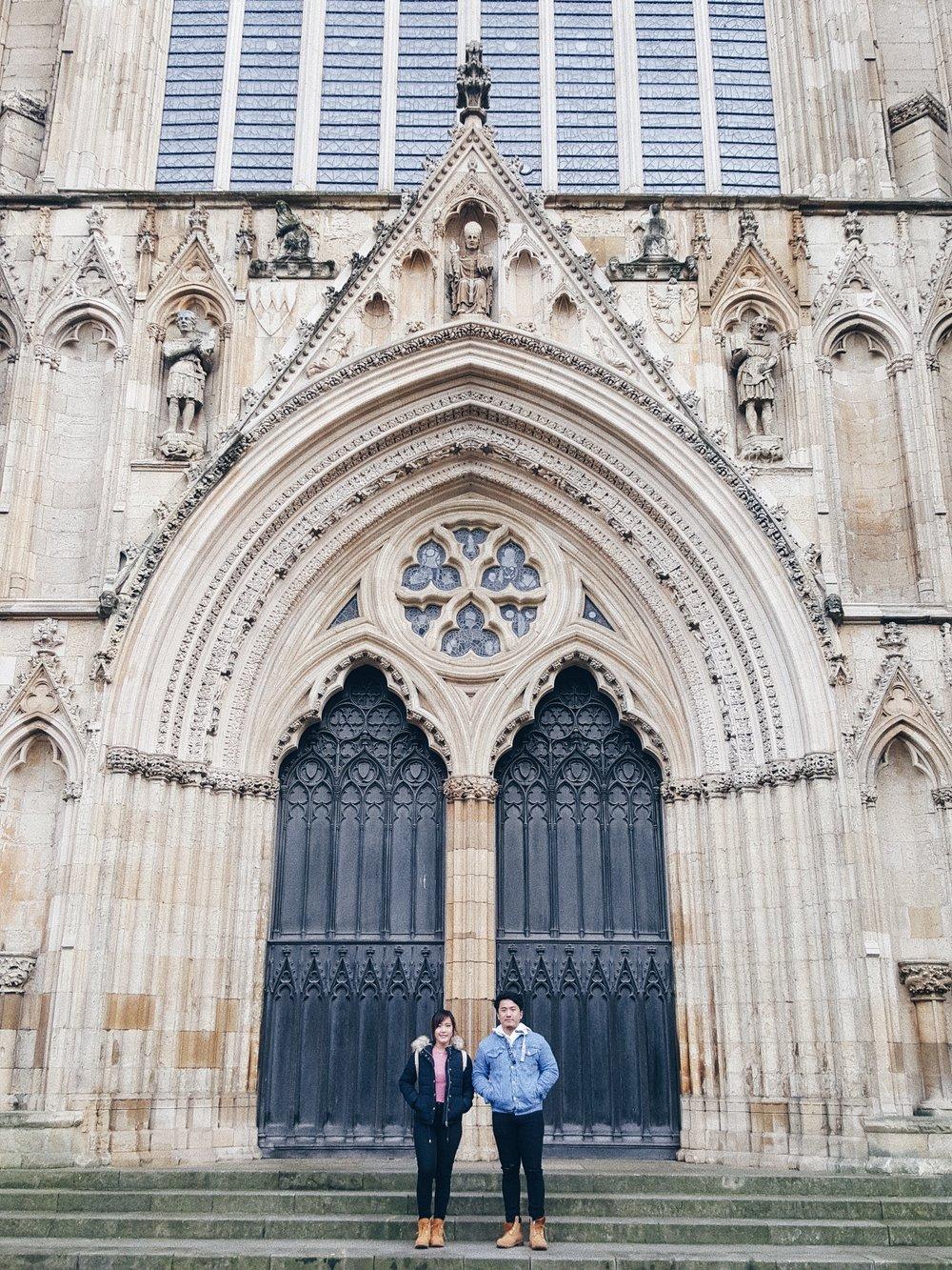 York minster - Nana & Akash