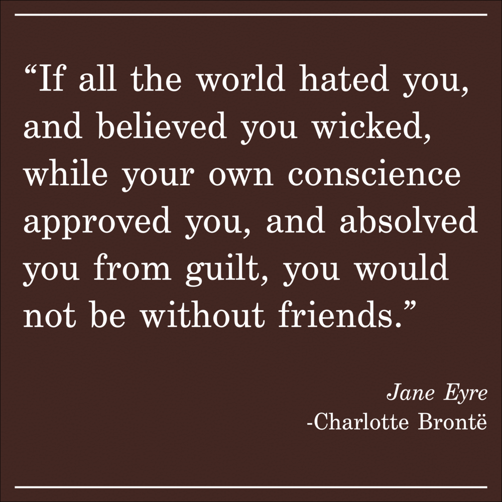 Daily Quote Jane Eyre by Charlotte Bronte