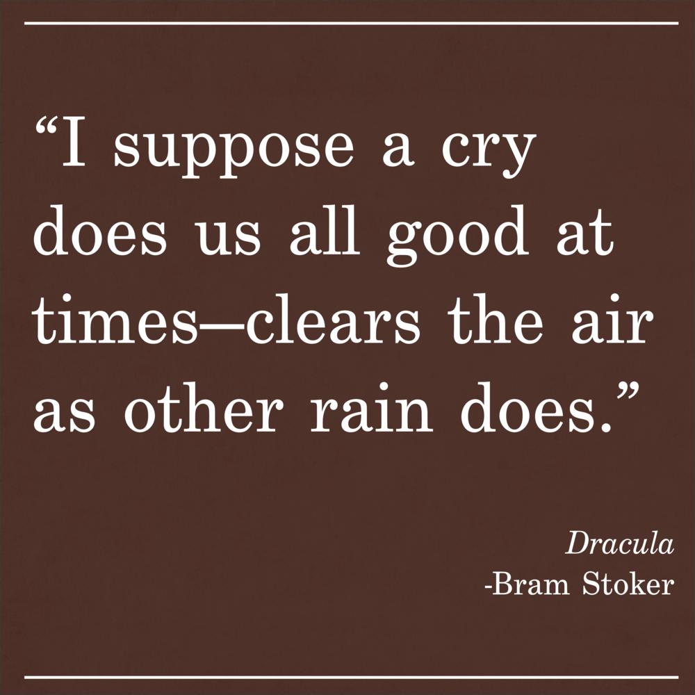 Daily Quote Dracula Bram Stoker
