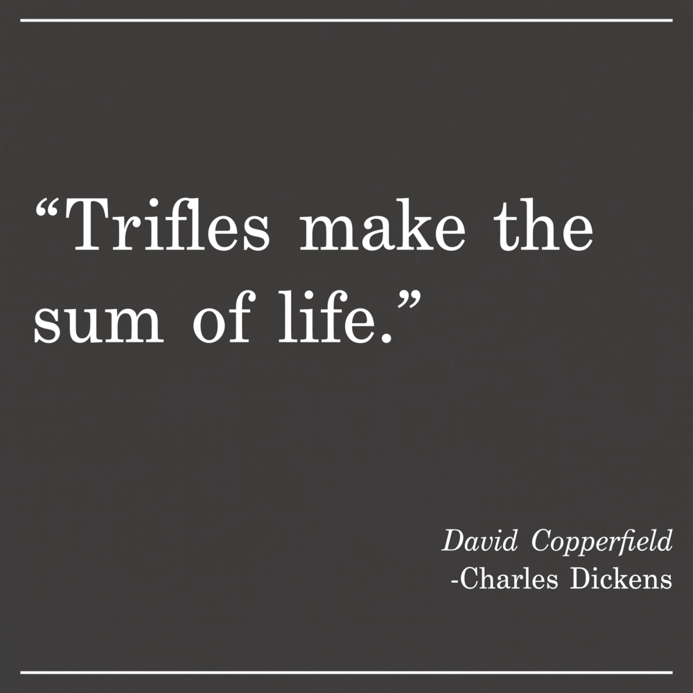 Daily Quote David Copperfield Charles Dickens