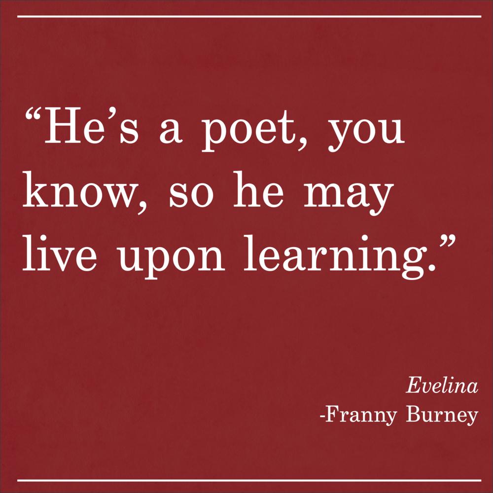Daily Quote Evelina Franny Burney