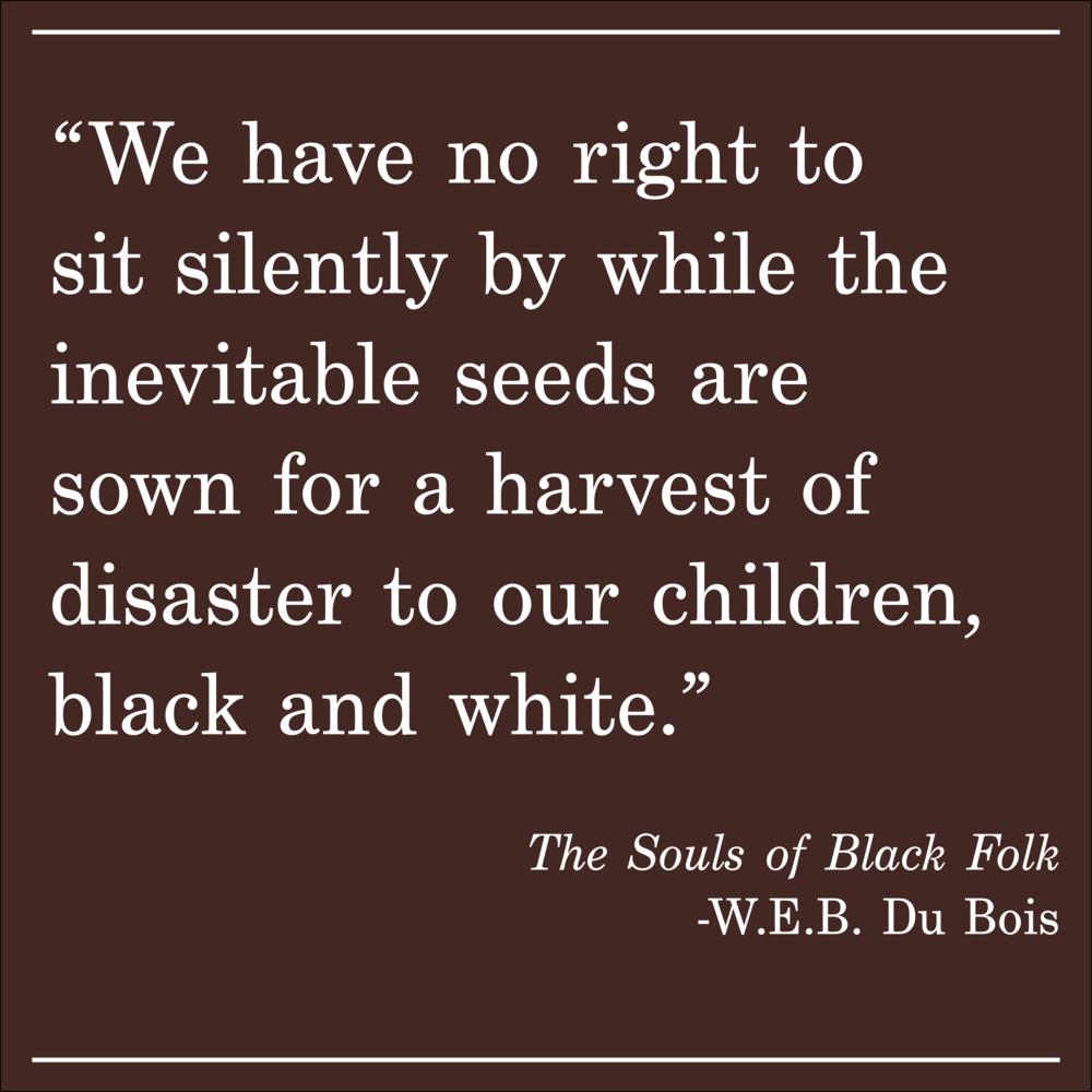 Daily Quote WEB Du Bois The Soul of Black Folk