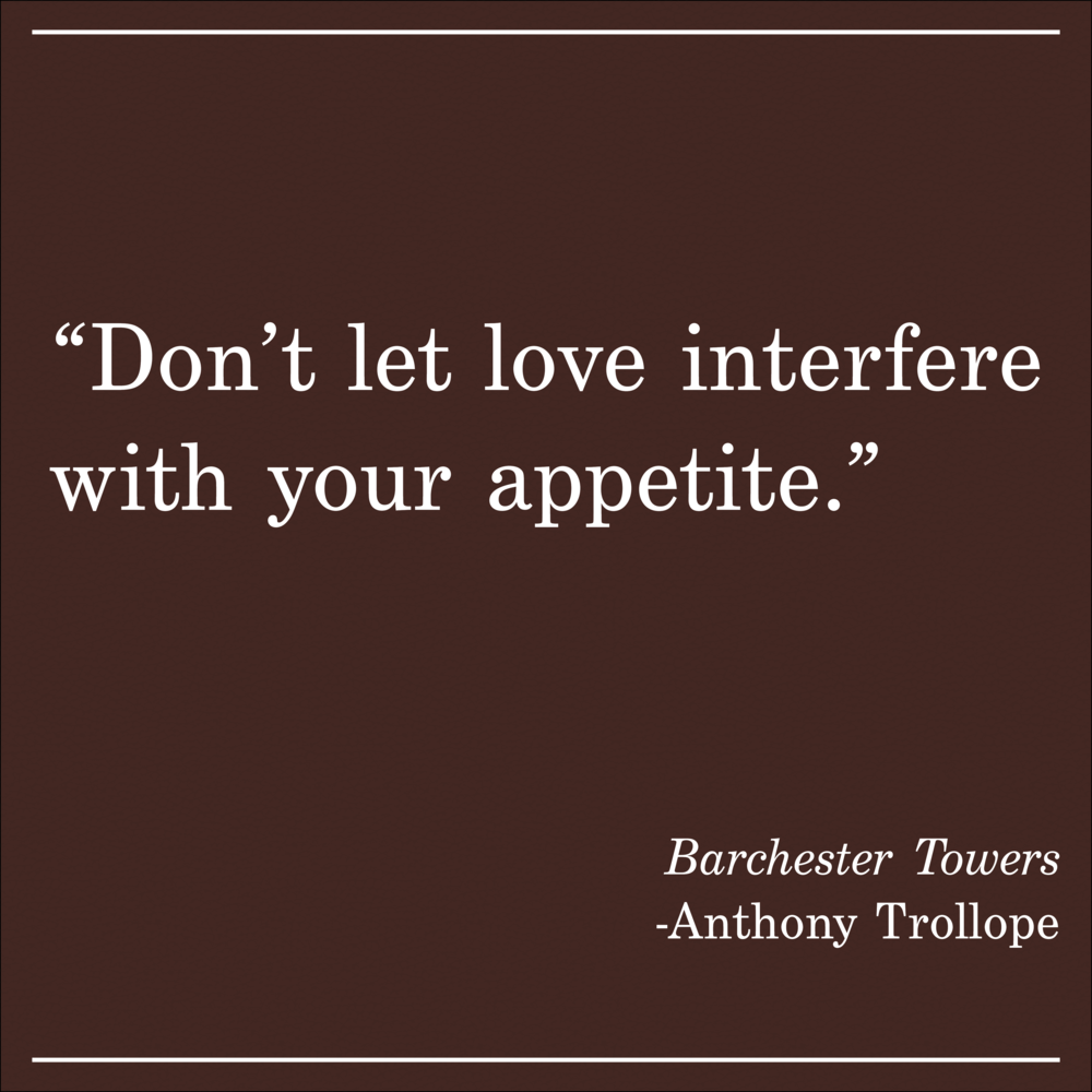 Daily Quote Barchester Towers Anthon Trollope