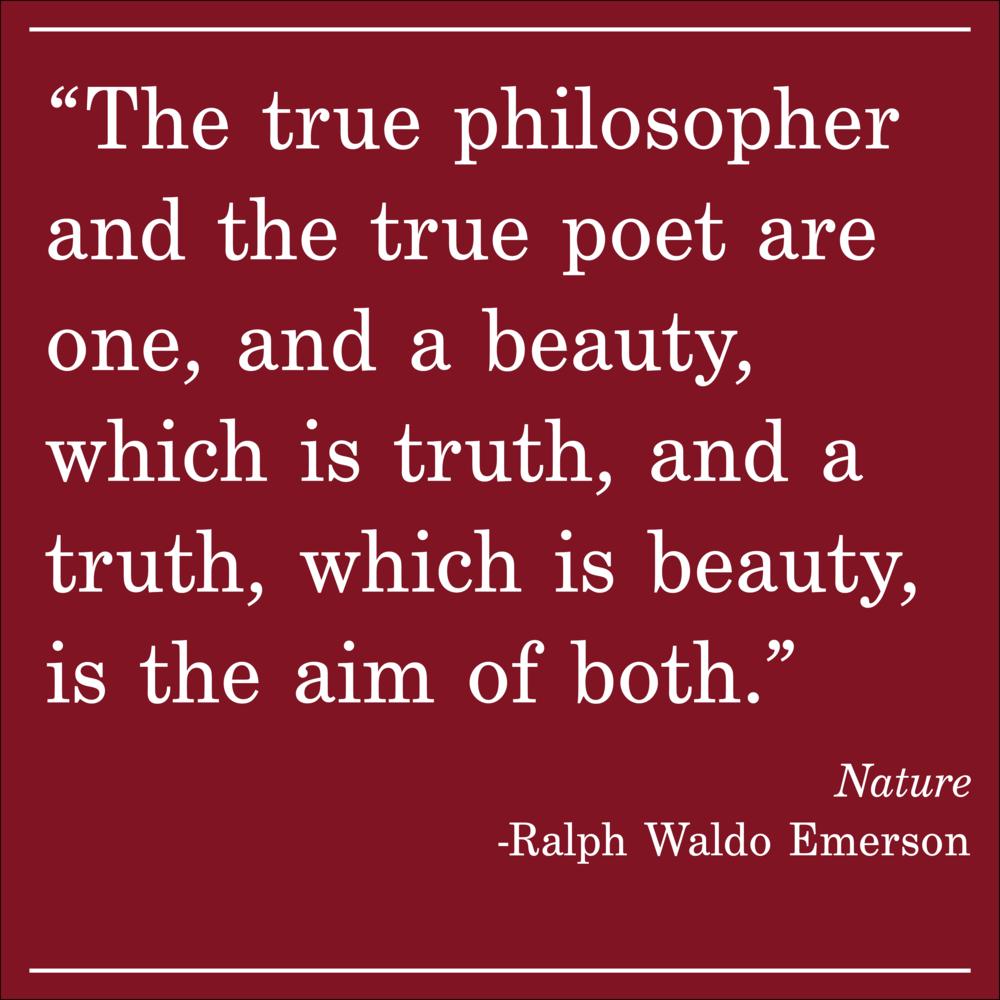 Daily Quote Ralph Waldo Emerson Nature
