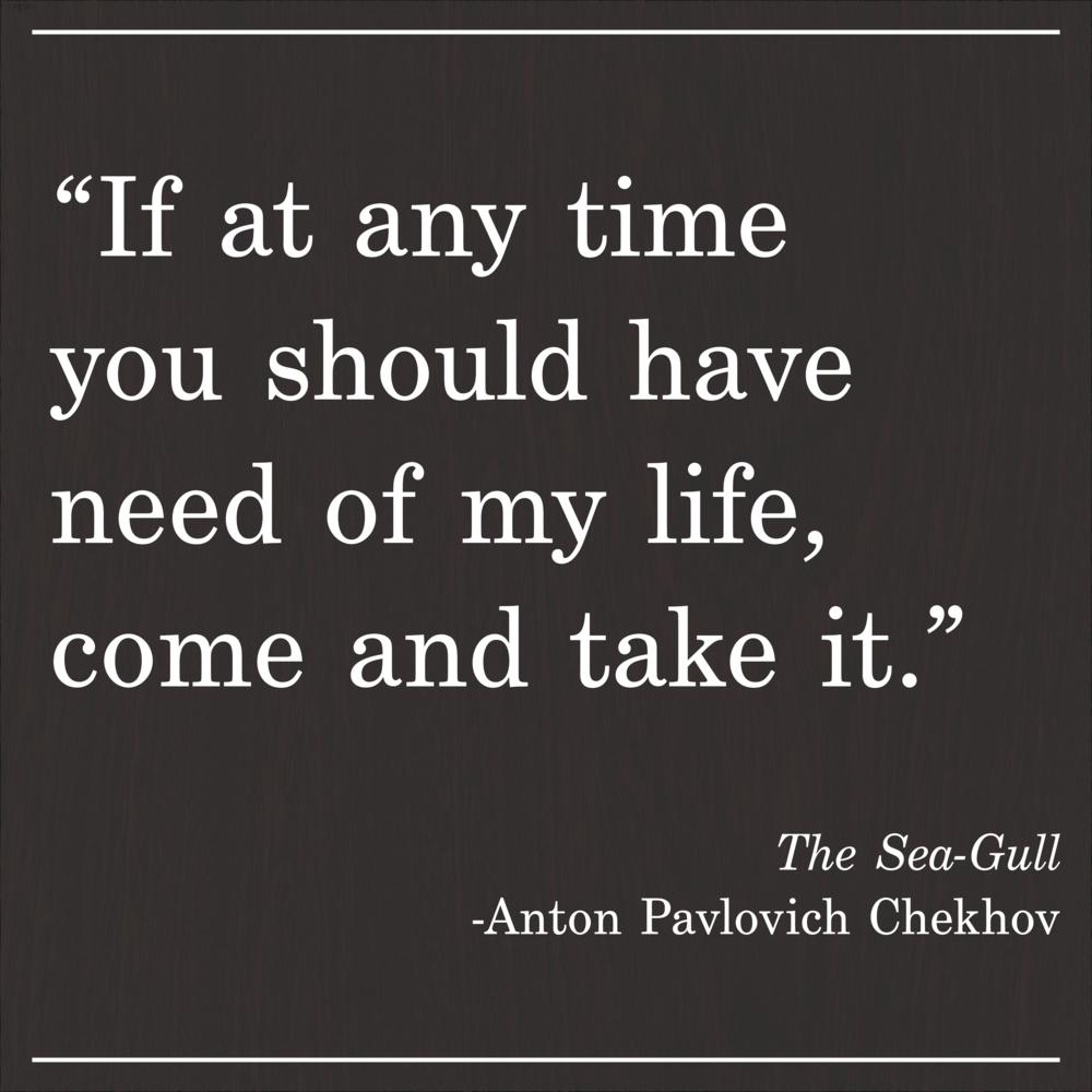 Daily Quote Chekhov The Sea-Gull