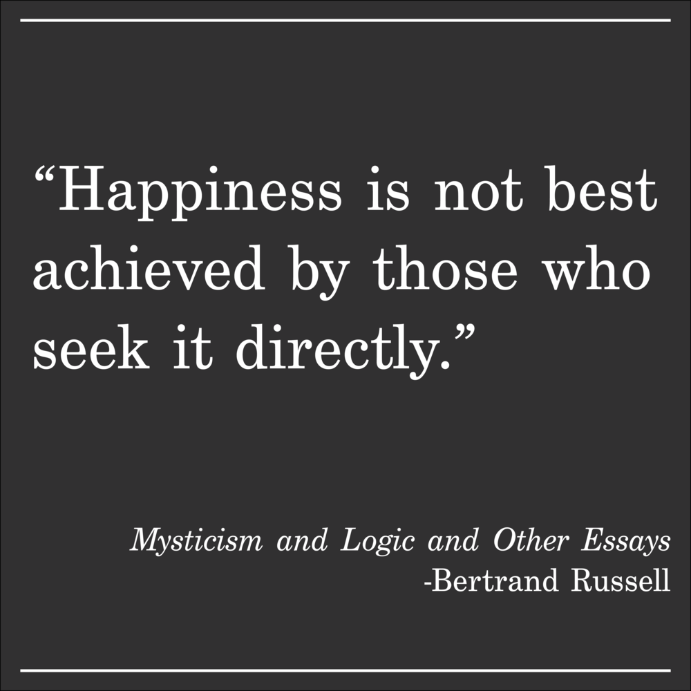 Daily Quote Bertrand Russell Mysticism and Logic