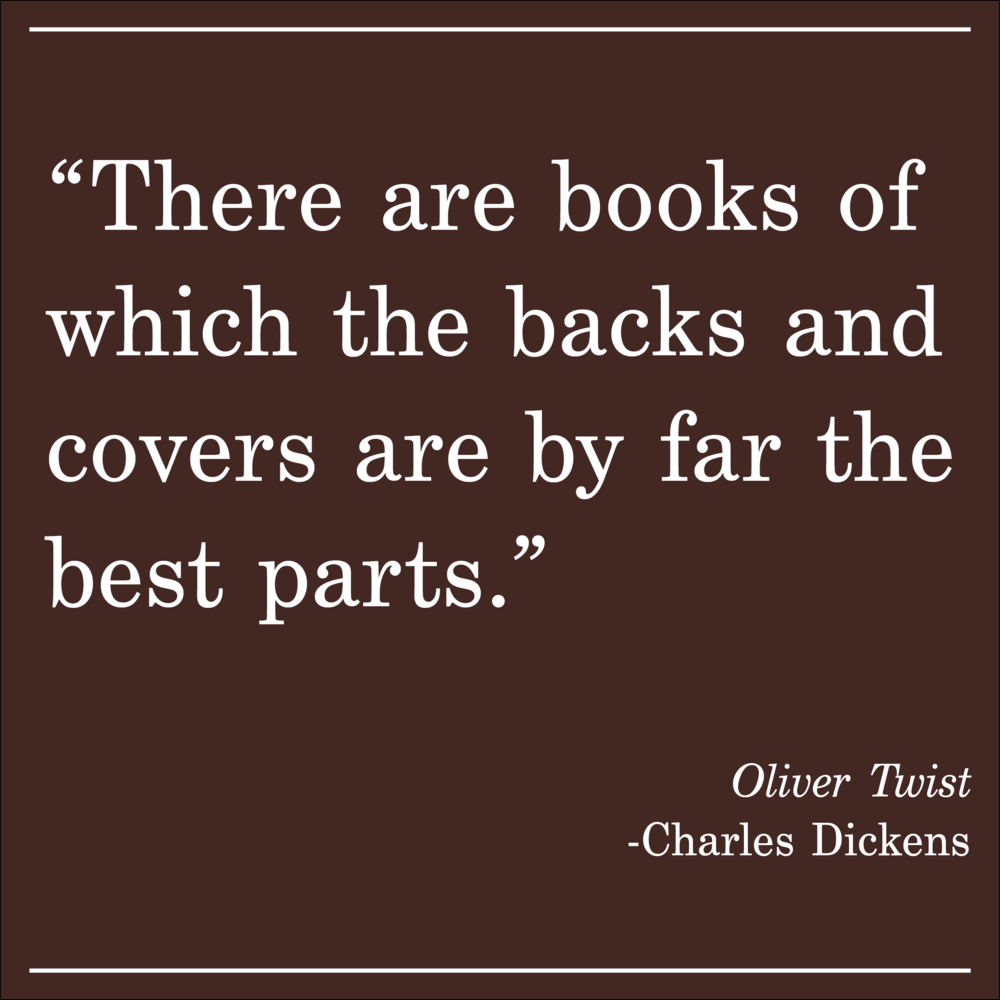 Daily Quote Charles Dickens Oliver Twist