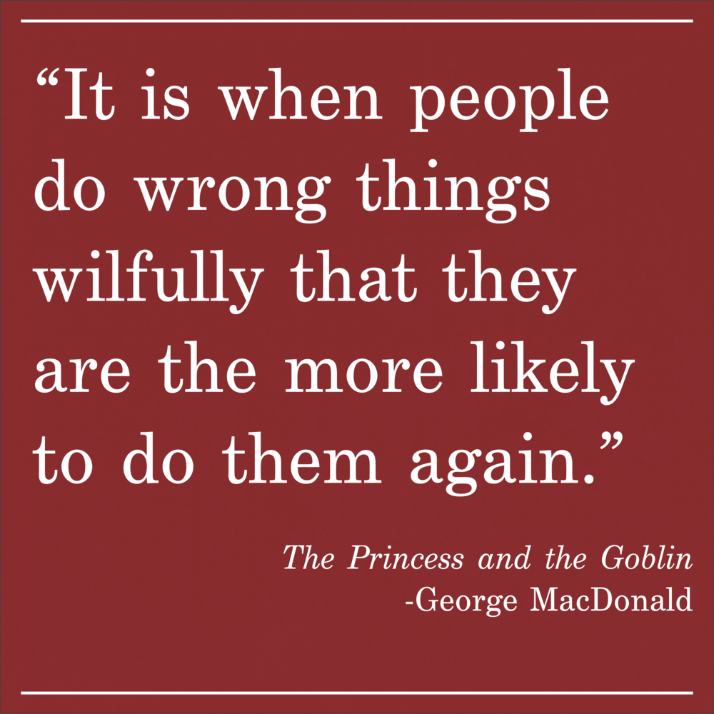 Daily Quote The Princess and the Goblin by George MacDonald