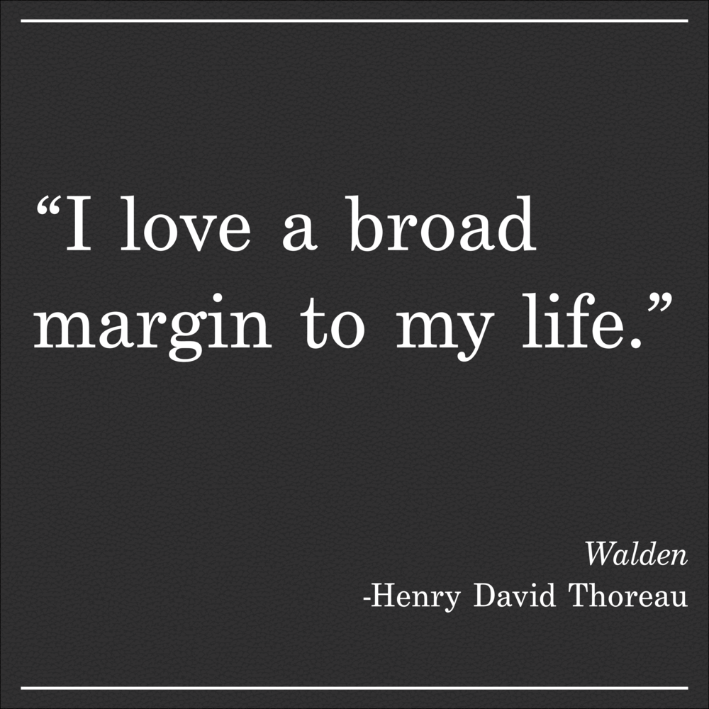 Daily Quote Walden by Thoreau