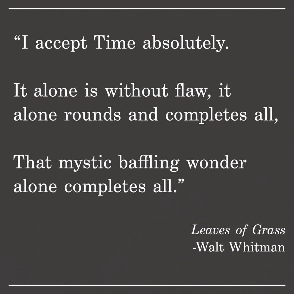 Daily Quote Leaves of Grass by Walt Whitman