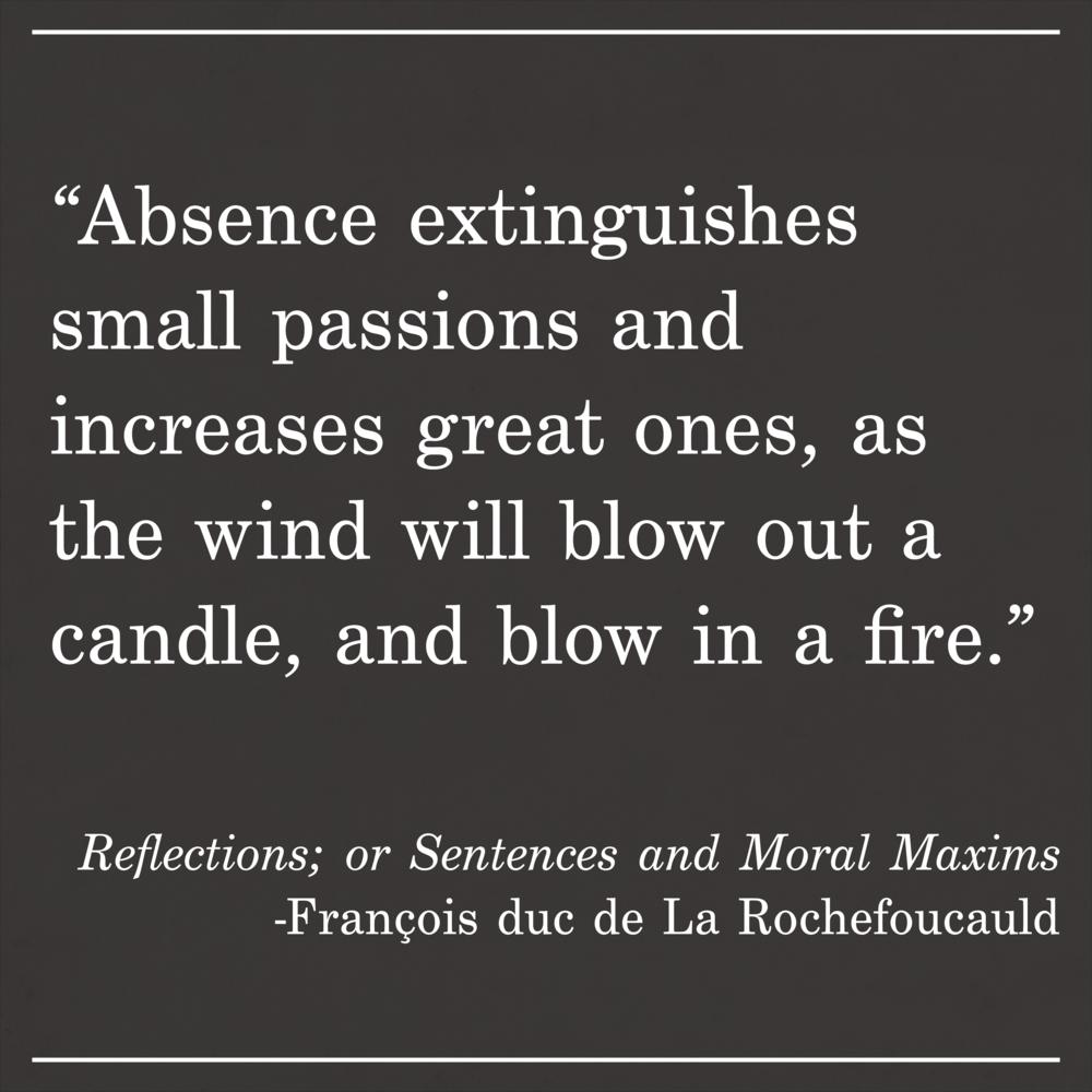 Daily Quote Reflections; or Sentences and Moral Maxims by François duc de La Rochefoucauld
