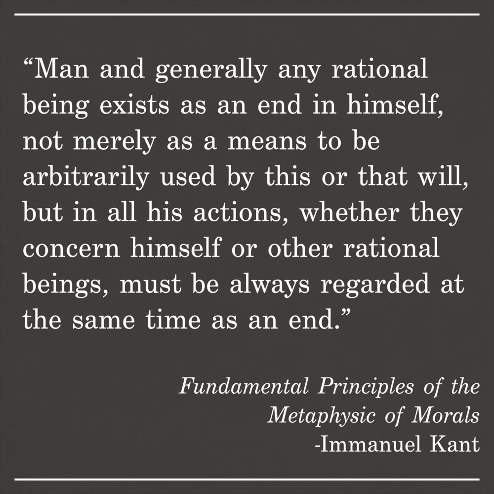 Daily Quote Emmanuel Kant