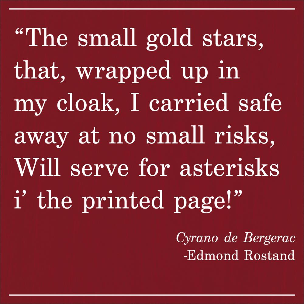 Daily Quote Cyrano de Bergerac by Edmond Rostand
