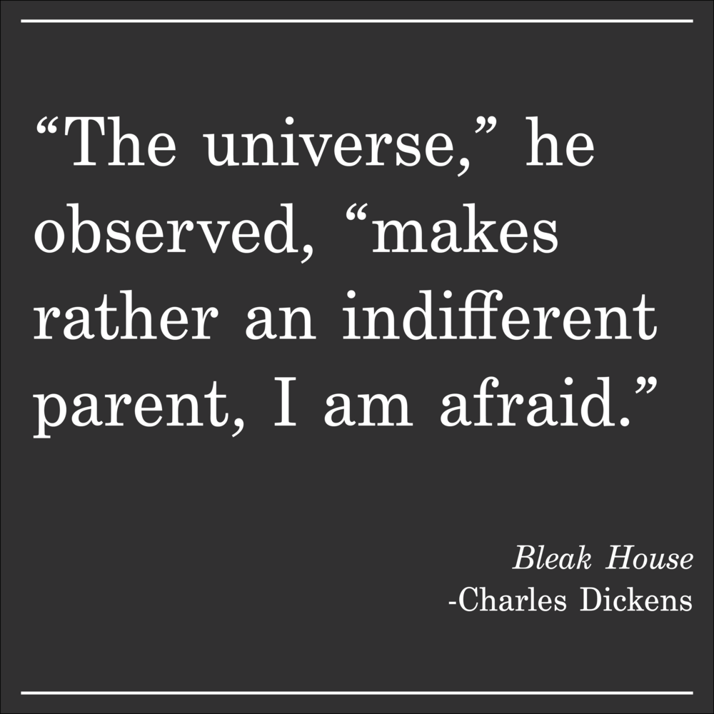 Daily Quote Bleak House Charles Dickens