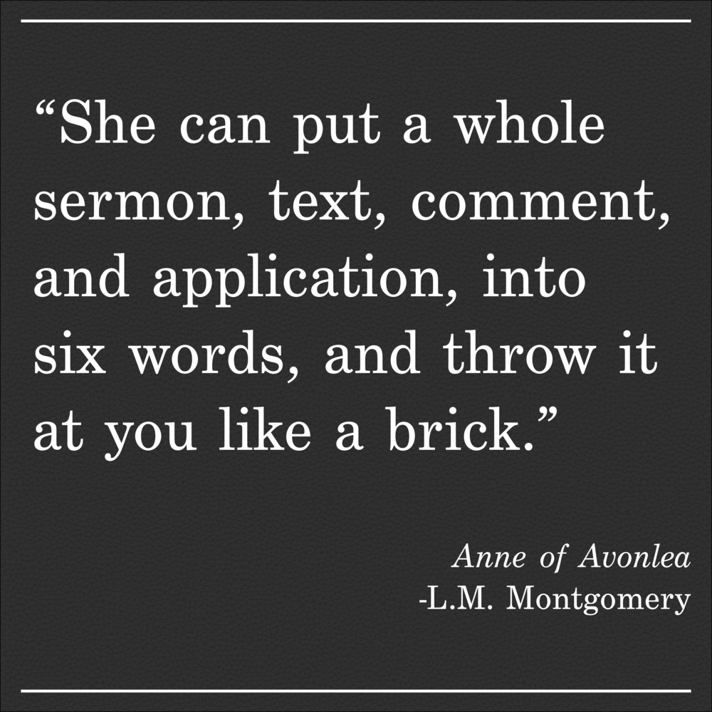 Daily Quote Anne of Avonlea by LM Montgomery