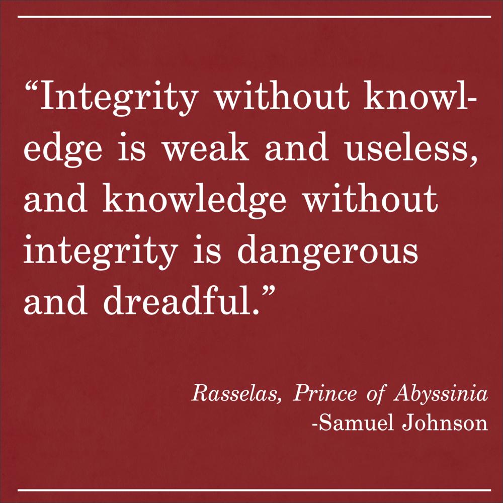 Daily Quote Rasselas by Samuel Johnson