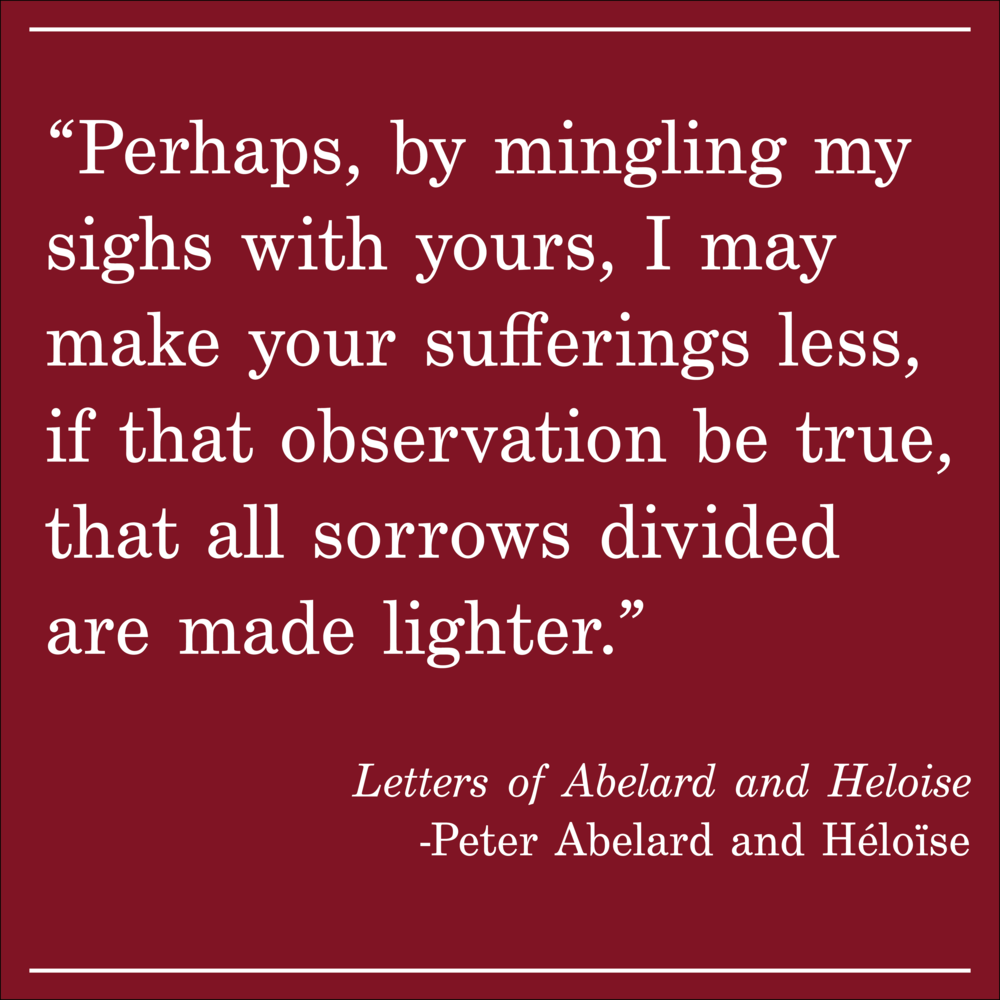 Daily Quote Letters of Abelard and Heloise