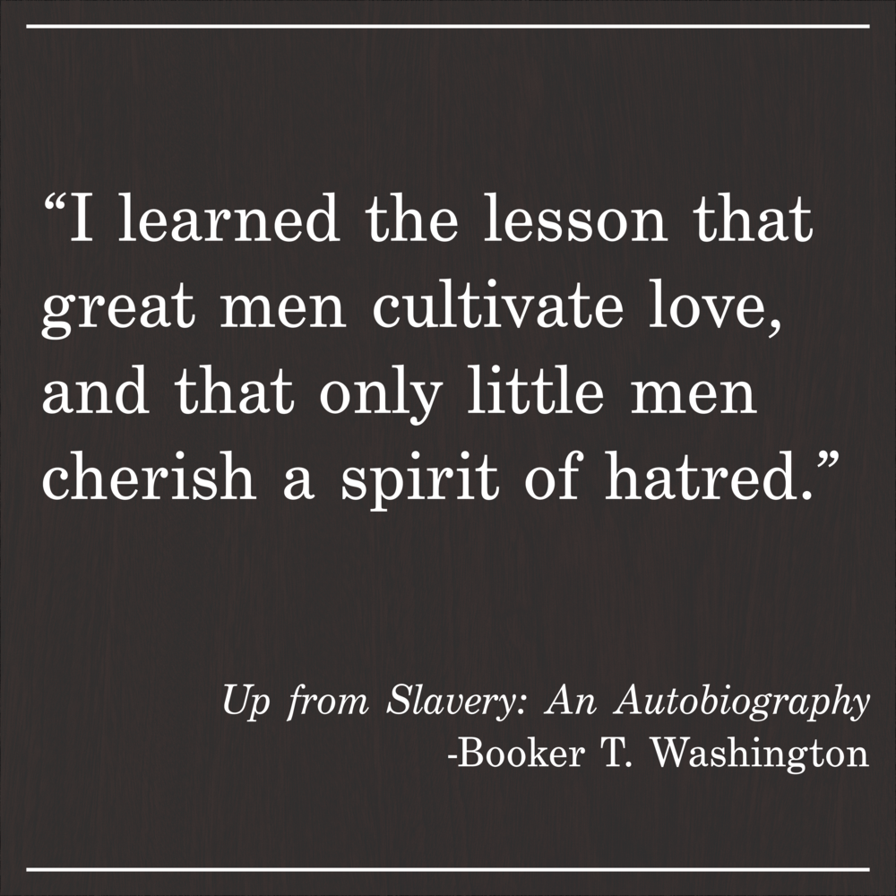 Daily Quote Up From Slavery by Booker T. Washington