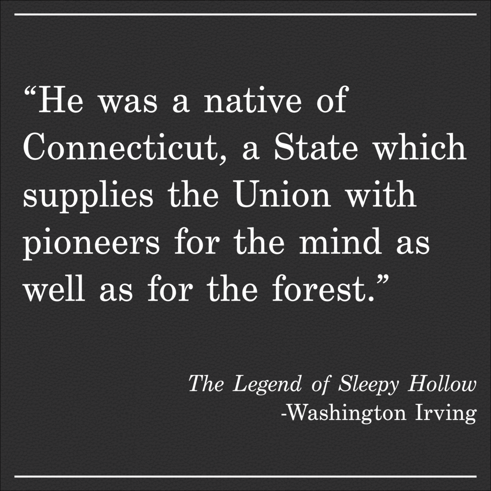 Daily Quote The Legend of Sleepy Hallow by Washington Irving