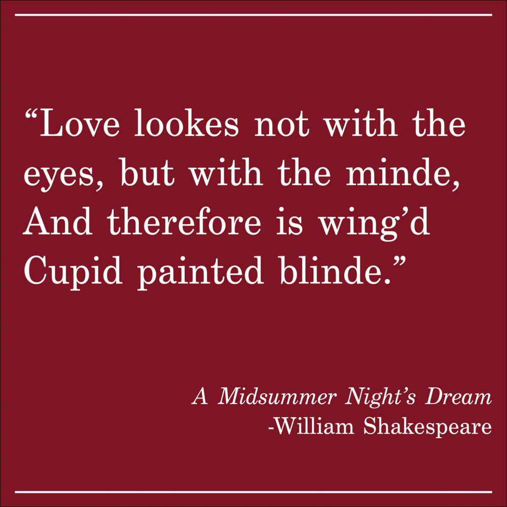 Daily Quote A Midsummer Night's Dream by William Shakespeare