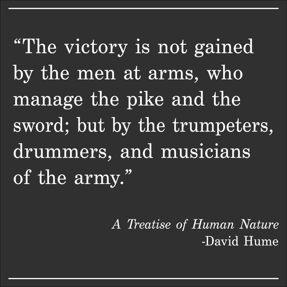 Daily Quote The Treatise of Human Nature by David Hume