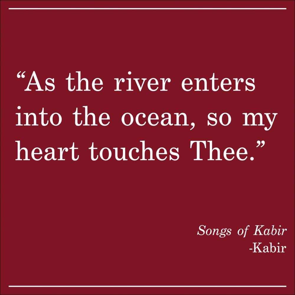 Daily Quote Songs of Kabir by Kabir