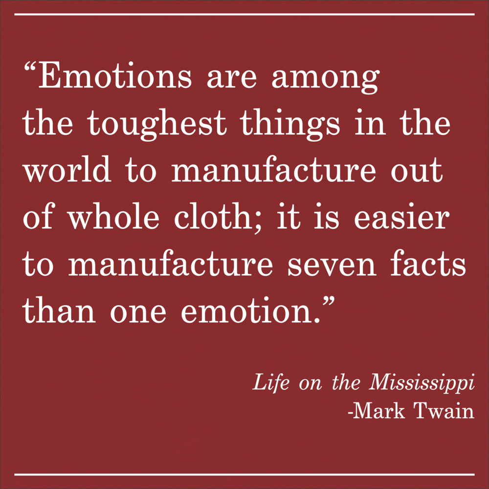 Daily Quote Life on the Mississippi by Mark Twain